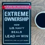 copy of extreme ownership and cup of coffee