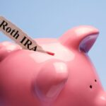 roth ira for kids savings in a piggy bank
